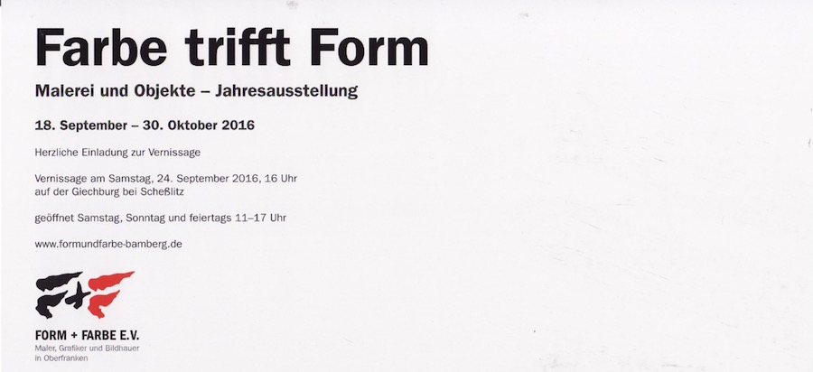 Form trifft Farbe 2016 hinten